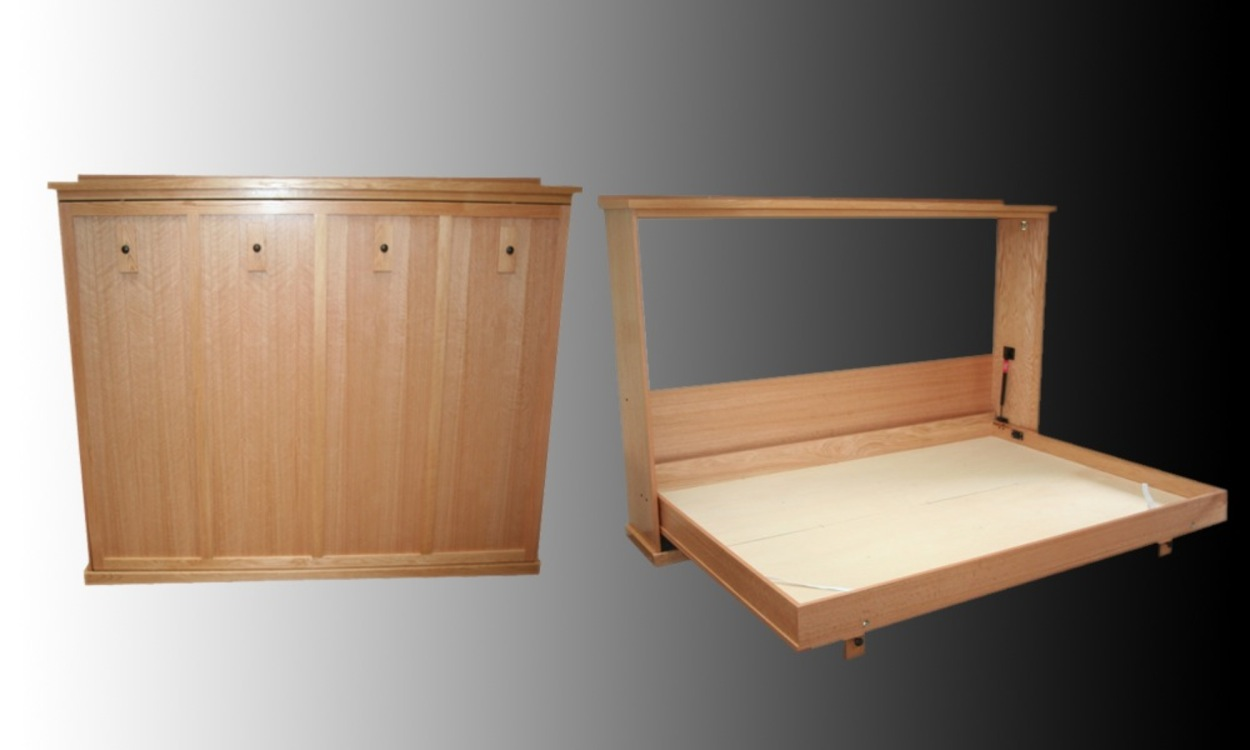 Images For Murphy Beds : How to build a murphy wall bed pdf woodworking